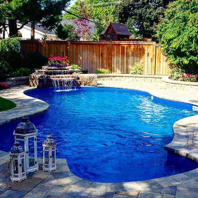 large backyard designs with pool
