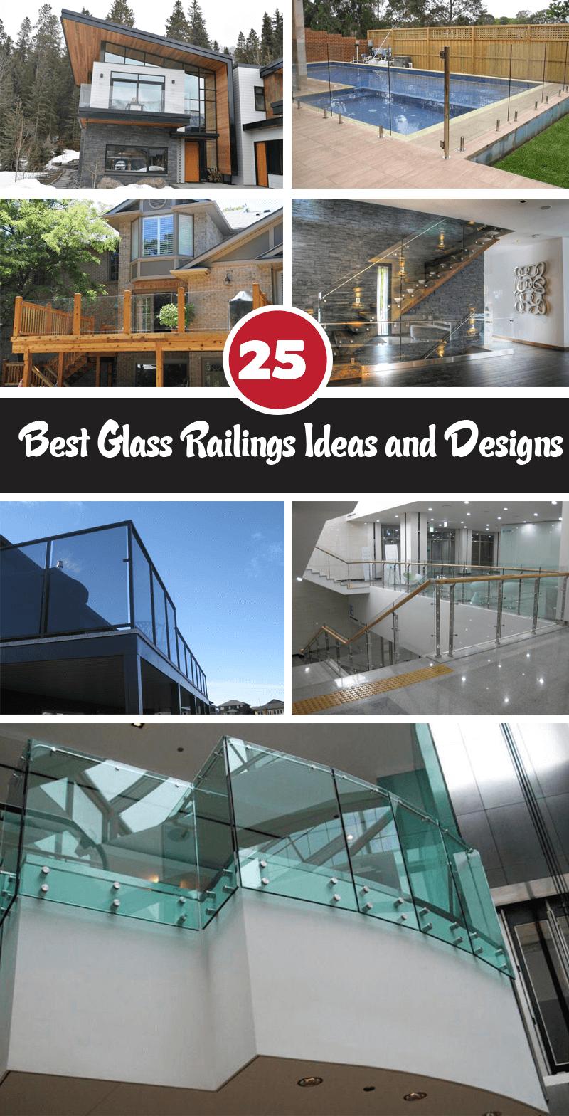 Best Glass Railings Ideas