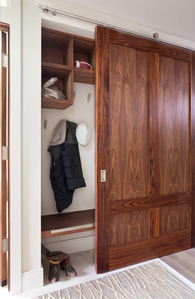 Built In Closet With Sliding Doors