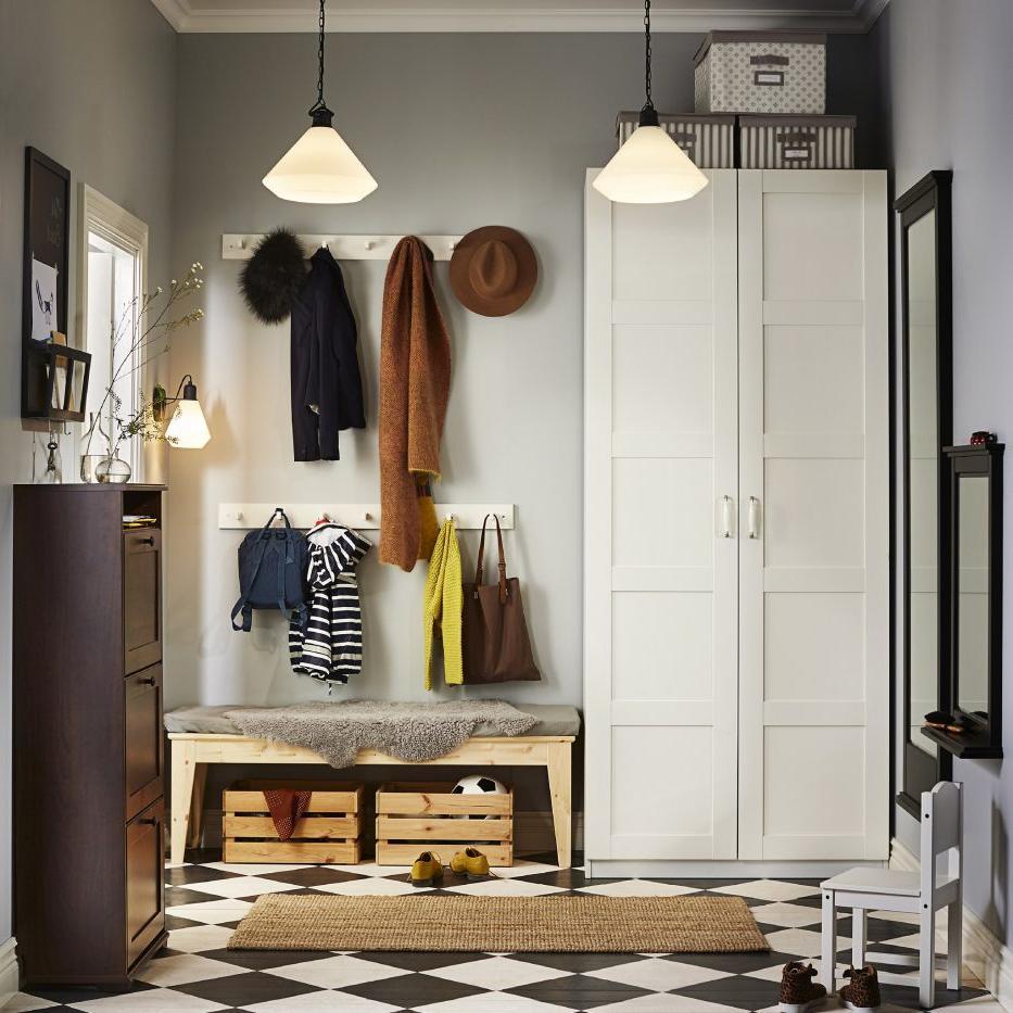 Built In Wardrobe Storage Cabinets Design Hall