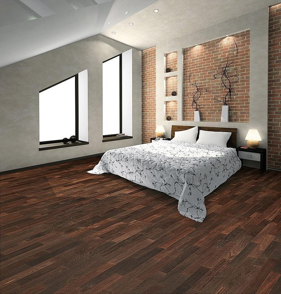 Choclate Brown Laminate Flooring For Bedroom