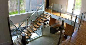 Glass Railing Interior Design Ideas
