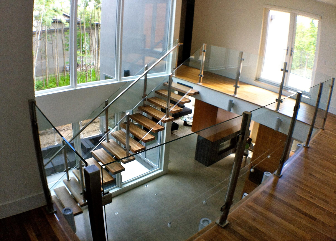 25 Glass Railings Design Ideas For Indoor And Outdoor ...