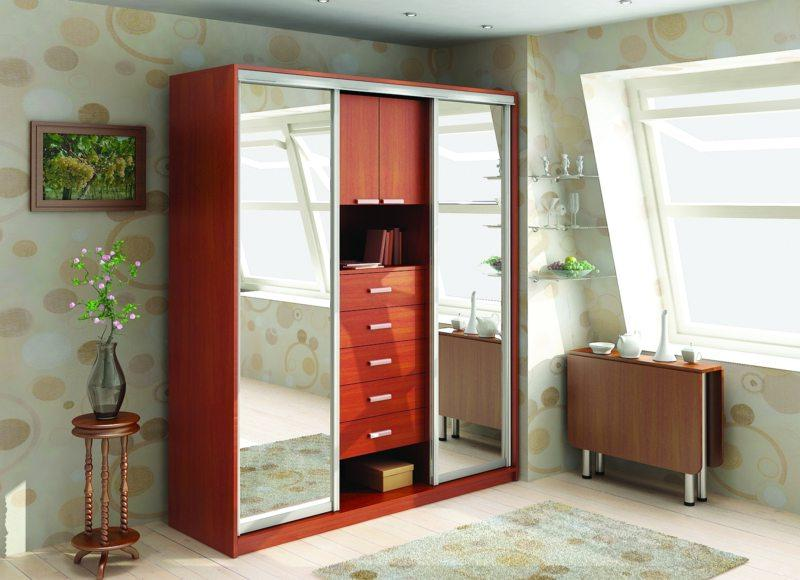Modern Built In Wardrobe Design For Small Hall