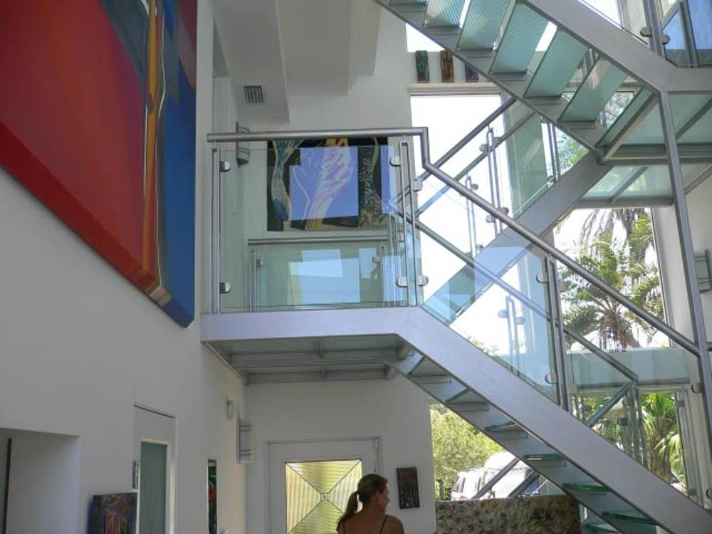 architectural glass railing systems