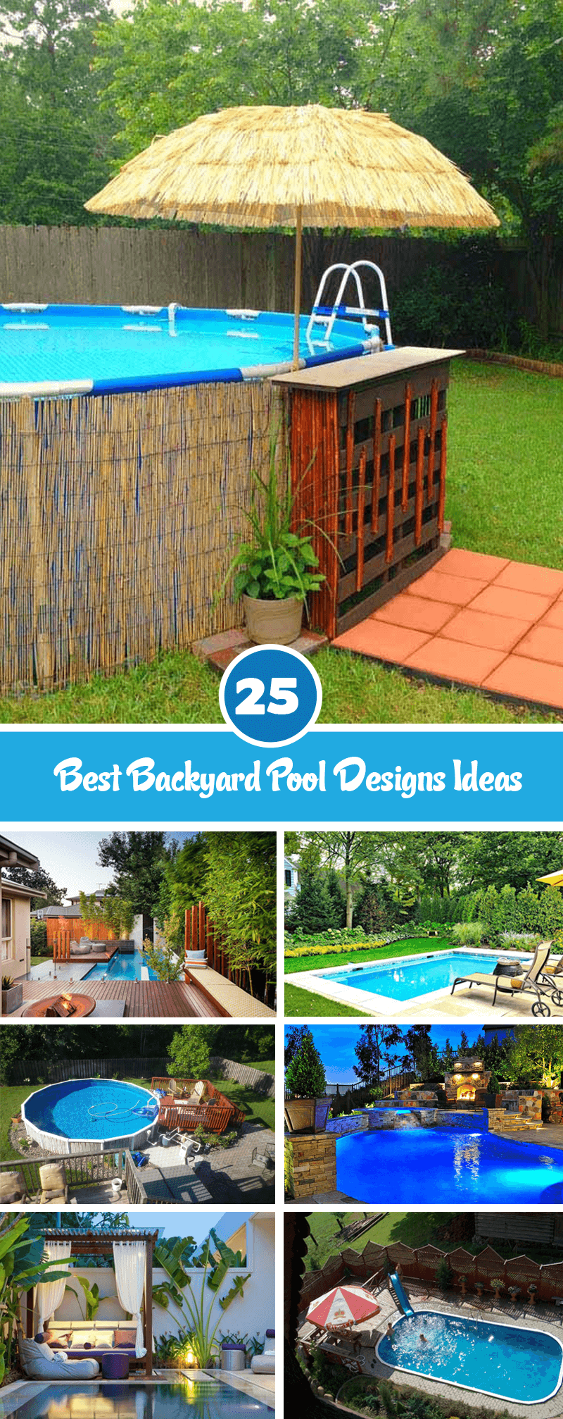 best backyard pool designs ideas