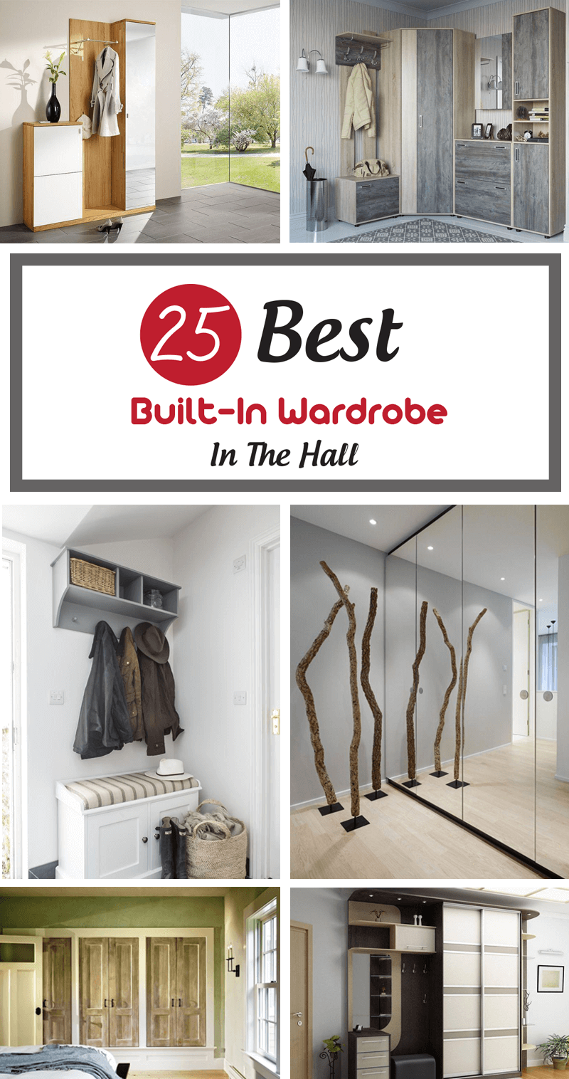 built in wardrobe in the hall