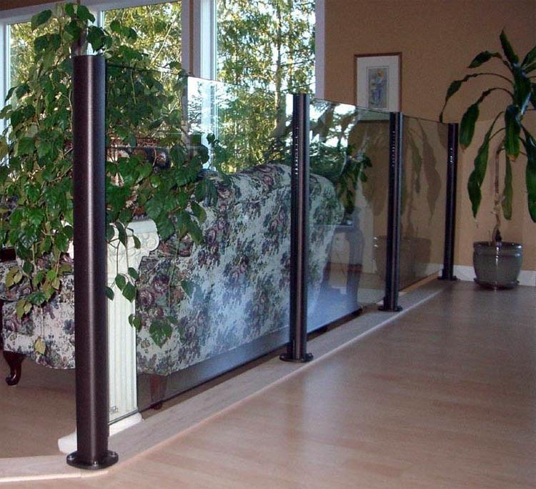 glass panel railing