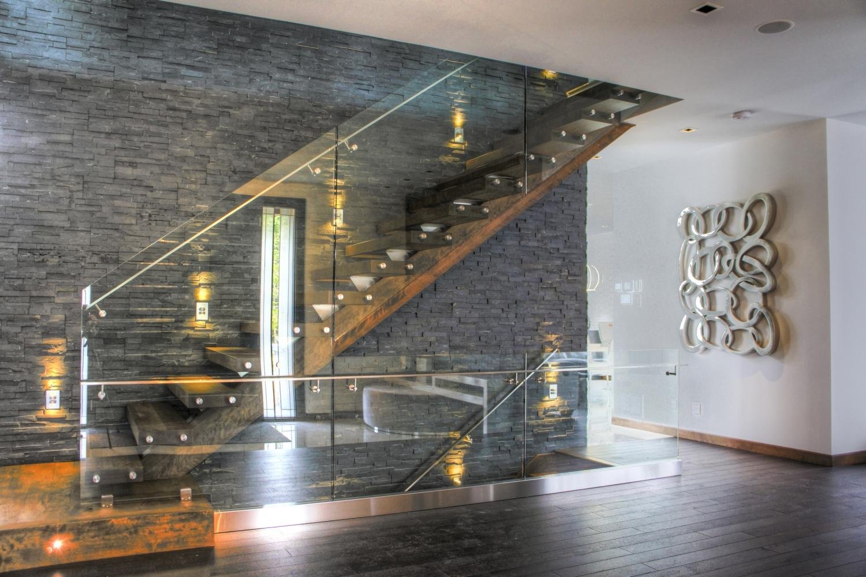glass railing Interior Design
