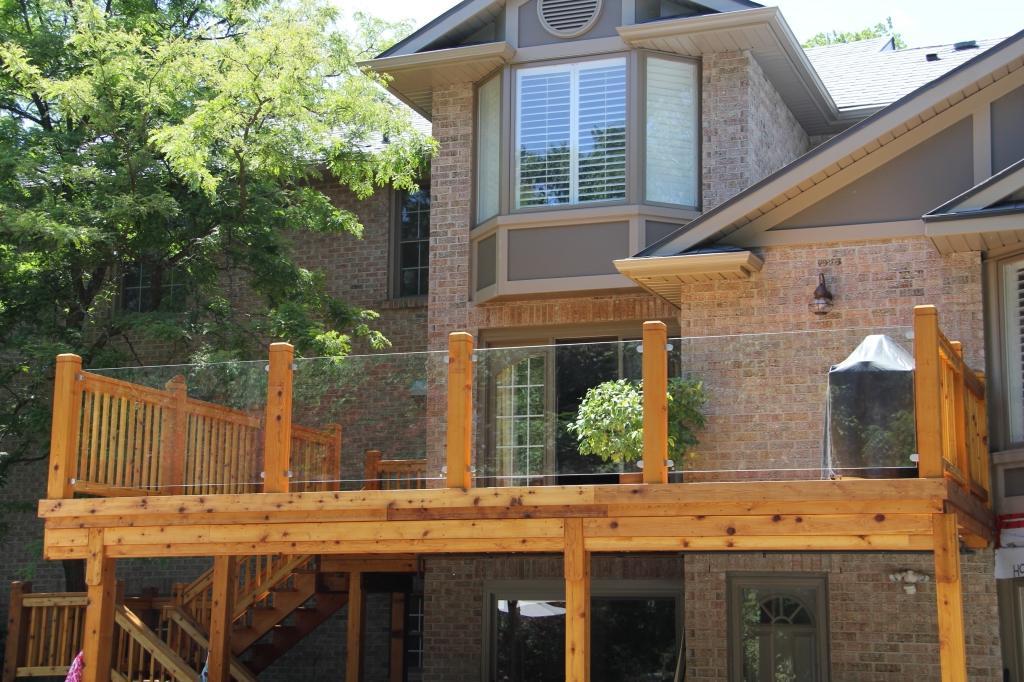 glass railings for decksglass railings for decks