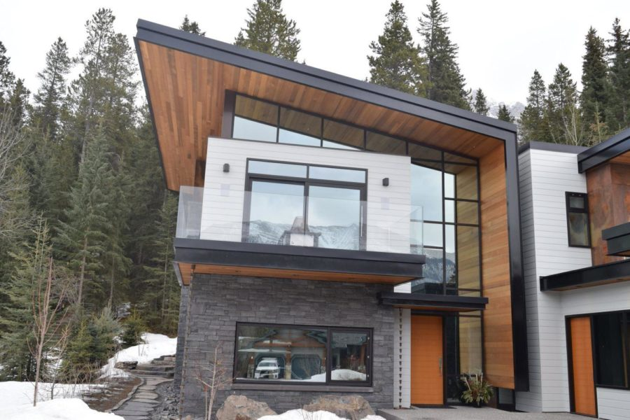 residential glass railing