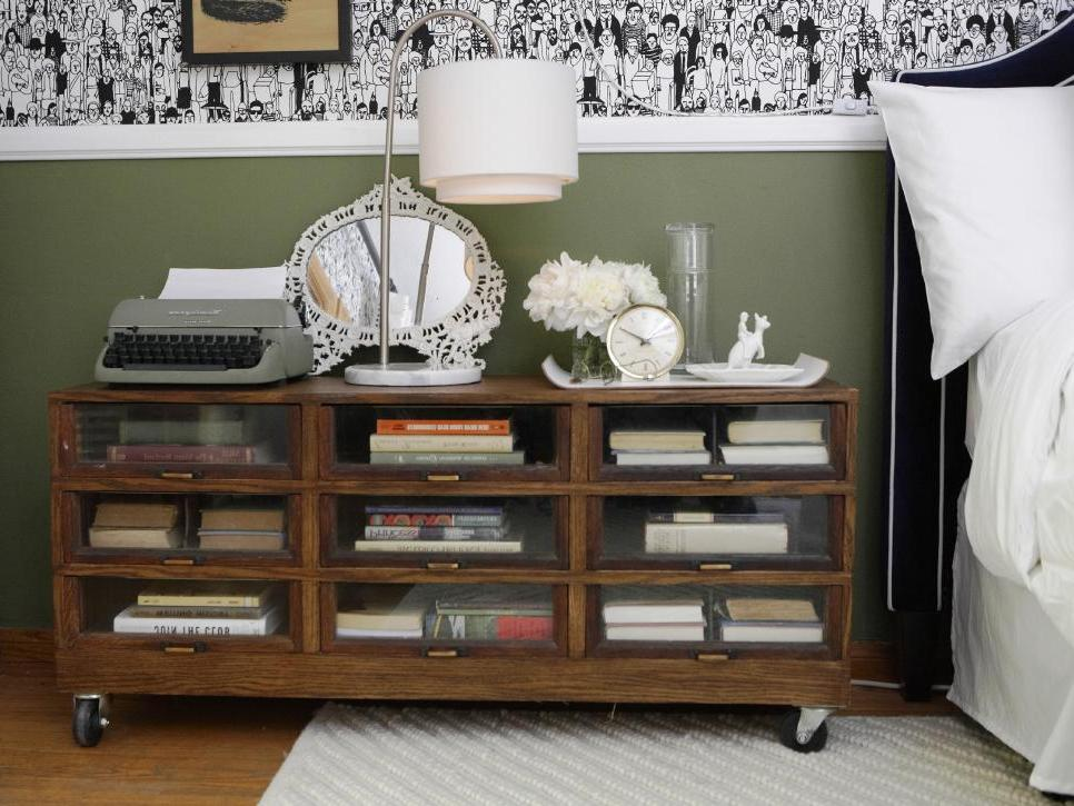 Old Furniture For Book Storage