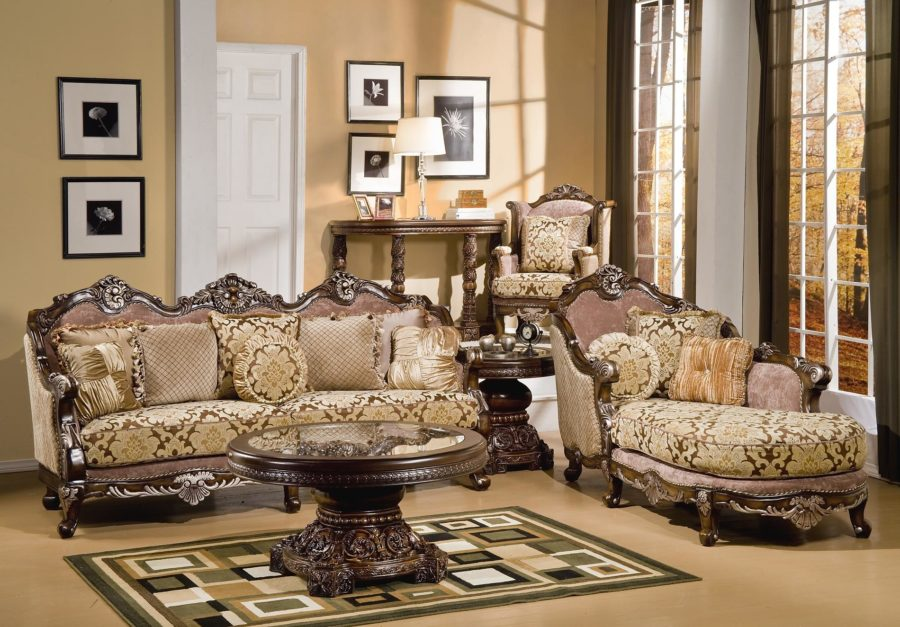 Victorian Style Living Room Design Ideas