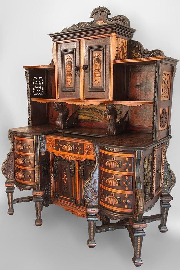 antiquing old furniture