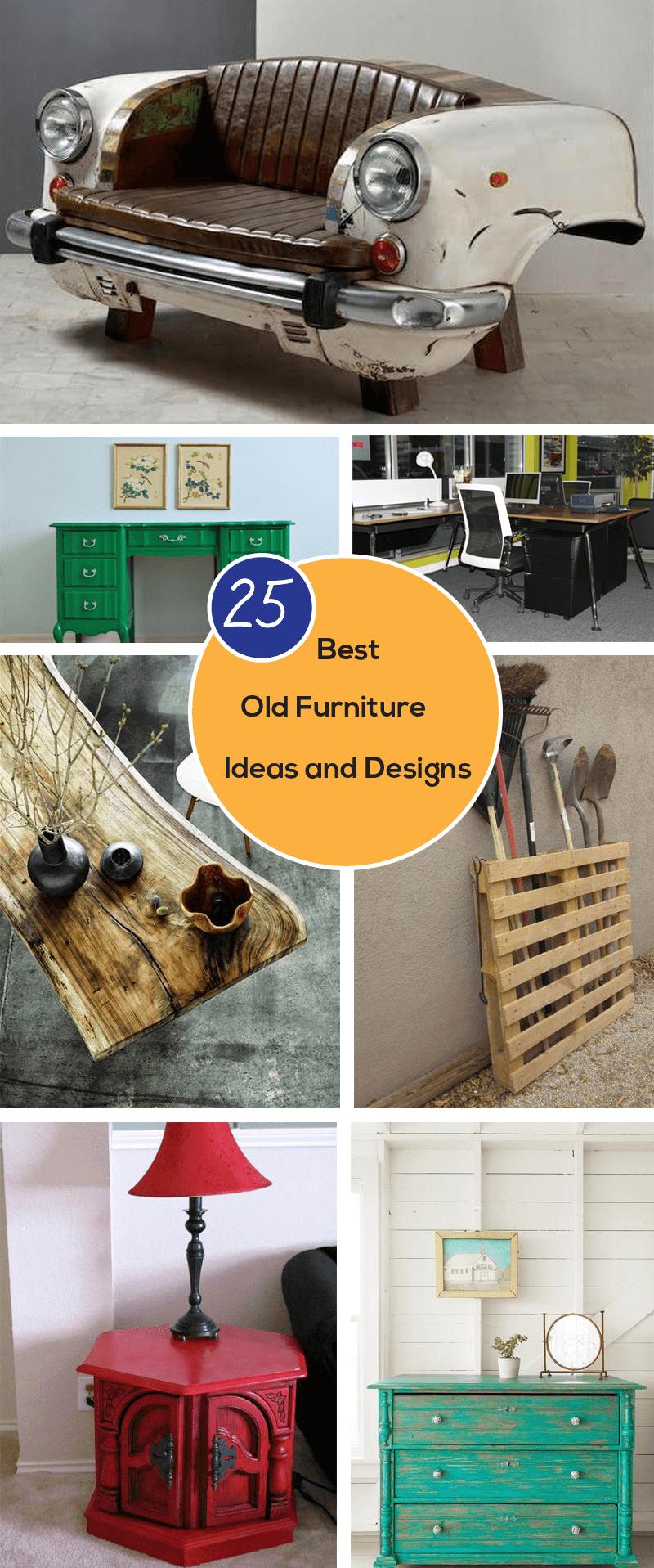 best old furniture decoration ideas