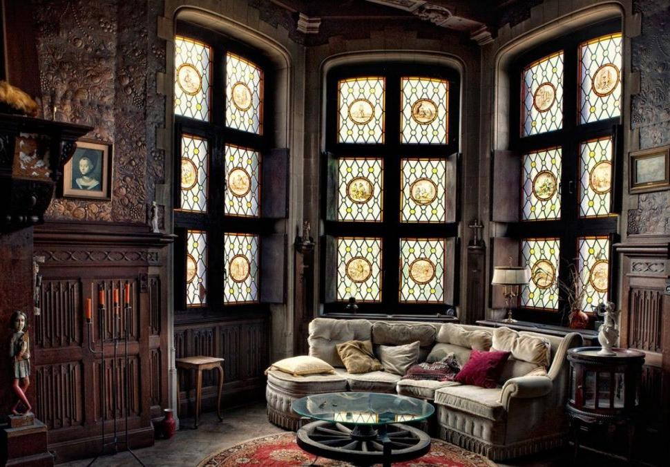 gothic living room victorian style furniture