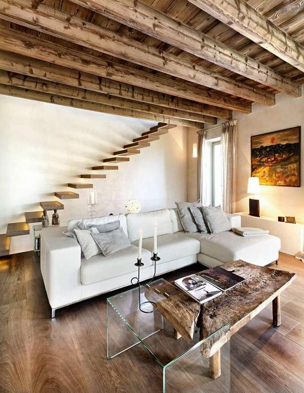 Antique Wood Ceiling Decoration Ideas