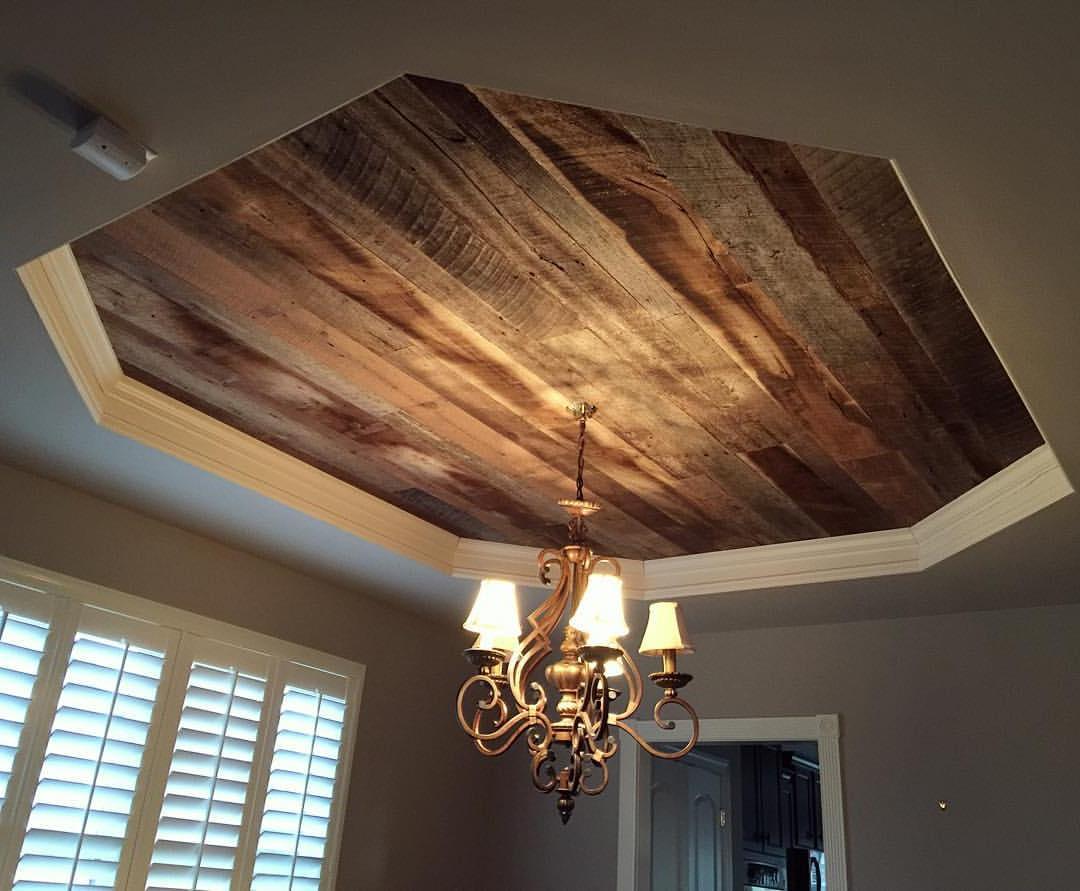 DIY Wood Ceiling Ideas