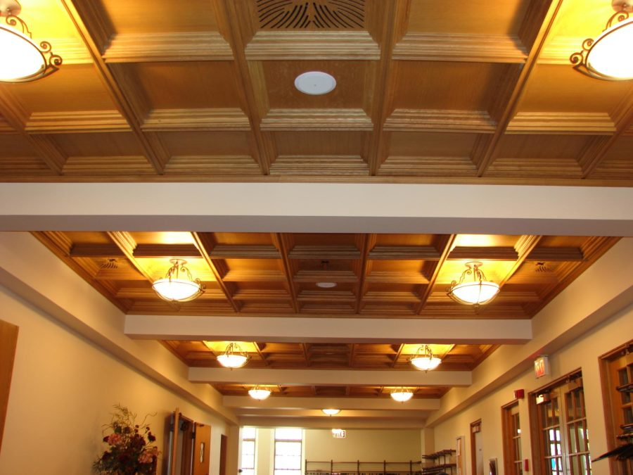 Wood Ceiling for church