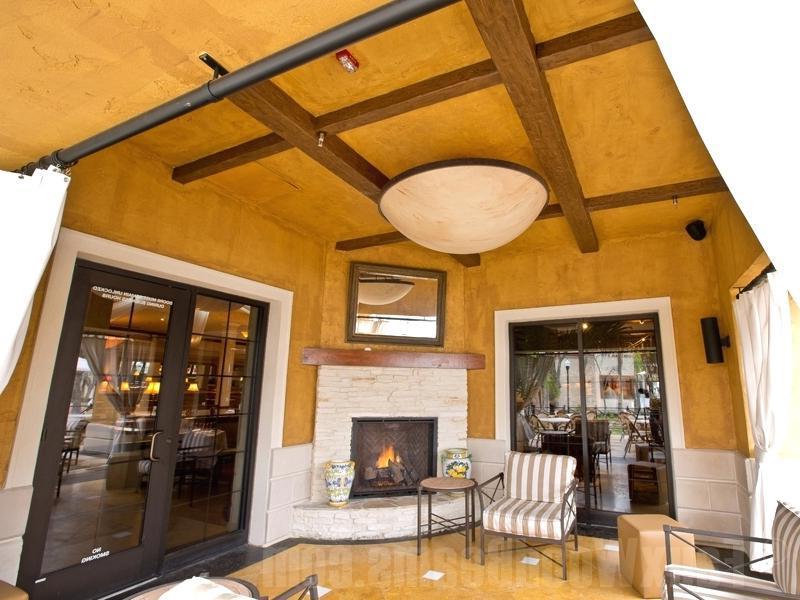 fake wood ceiling idea
