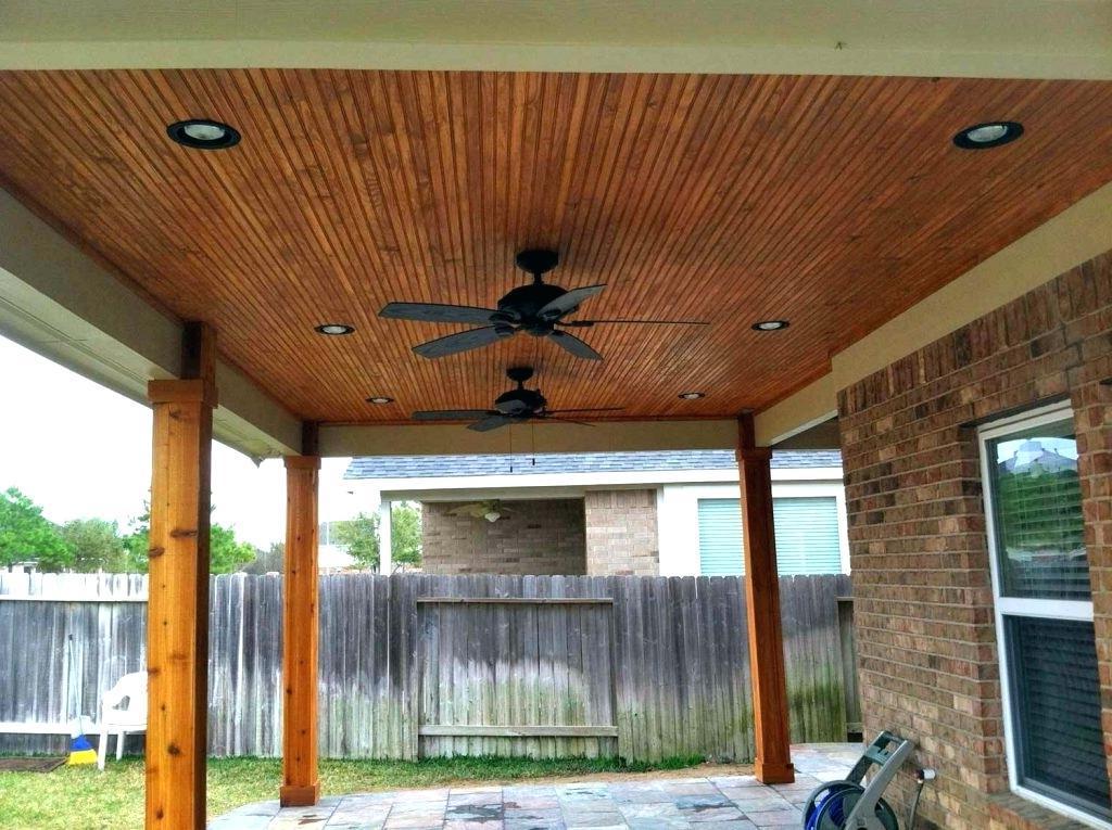 outdoor wood ceilings ideas
