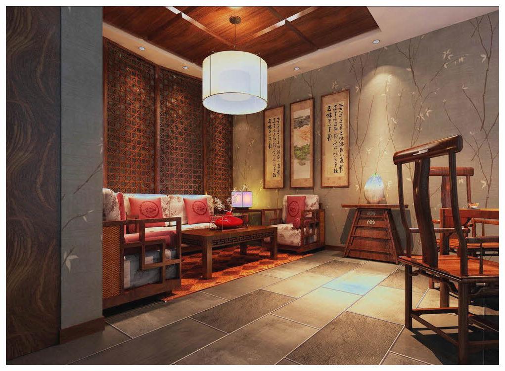 wood ceiling design for white living room