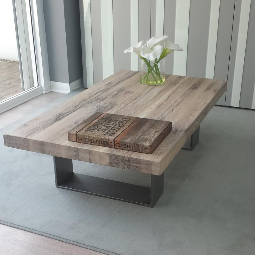 Oak White Wash Coffee Table