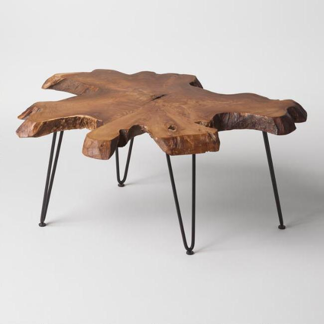 Unique Shape Coffee Table