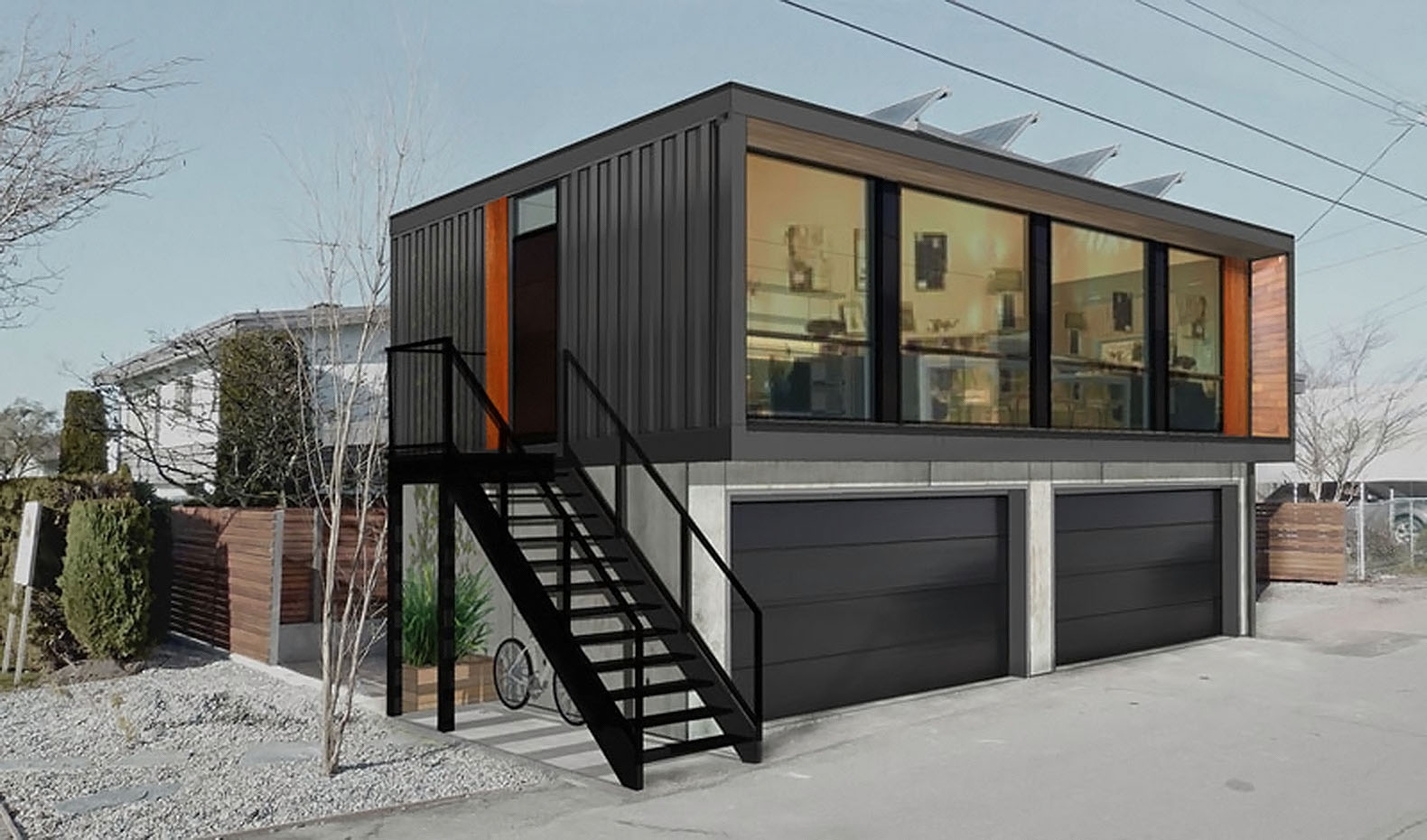 Black Home Ideas From Prefab