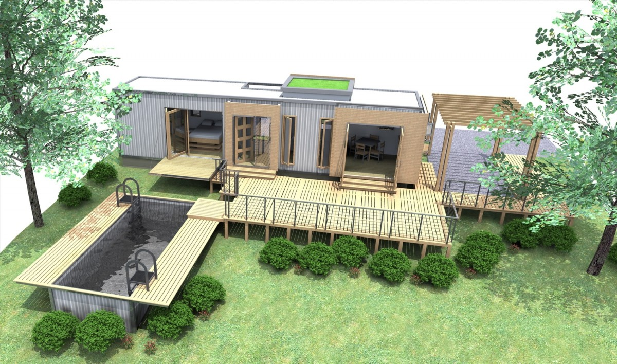 Storage Container Home Plans Inspirational I would soooooo live here Container Home Shipping House