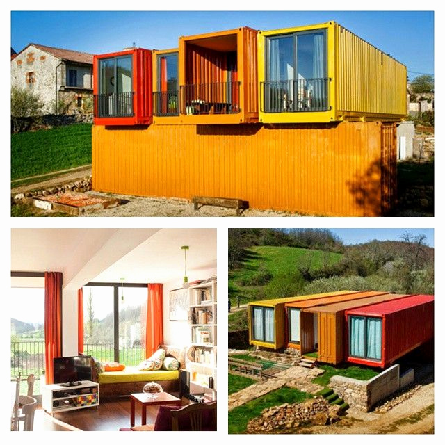 Storage Container home with barn ideas