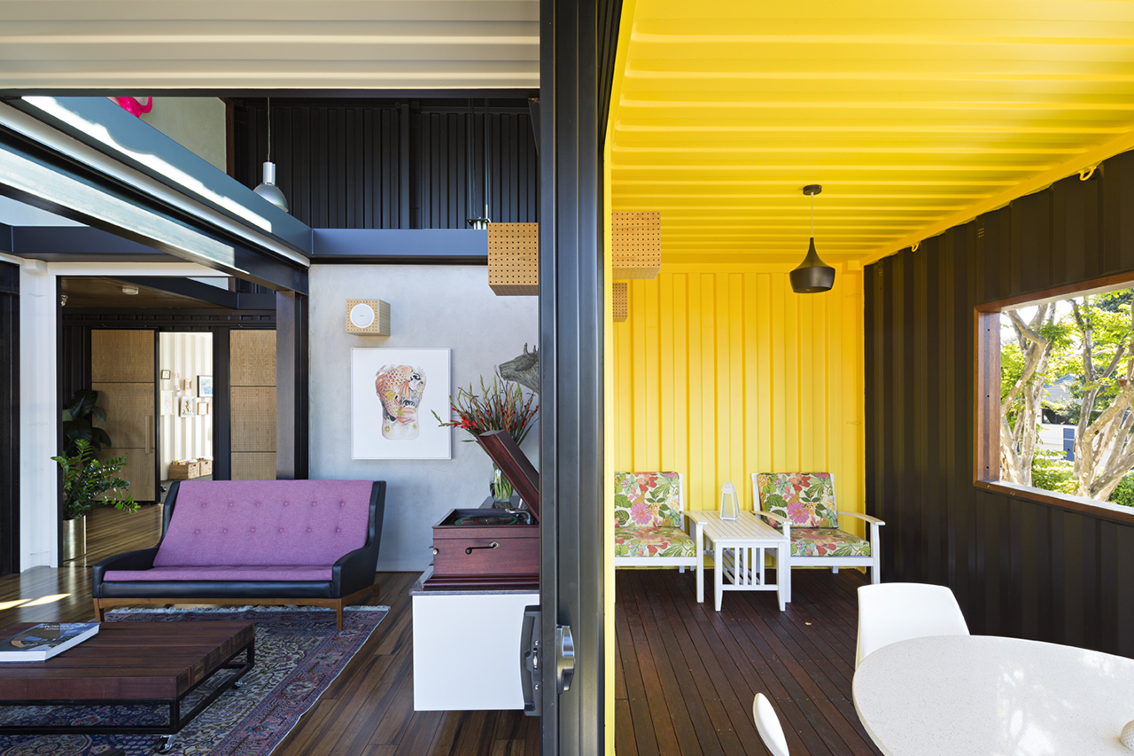 commercial shipping container interior ideas