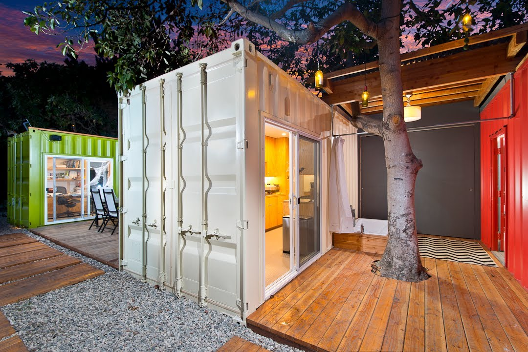 home storage containers with lighting for restaurant design