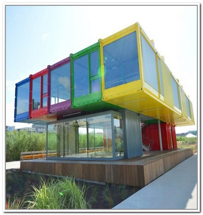 homes made from metal storage containers