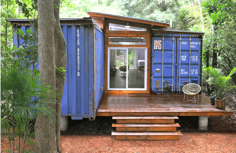 shipping container homes storage ideas