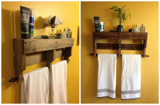 Cheap DIY bathroom storage cabinet