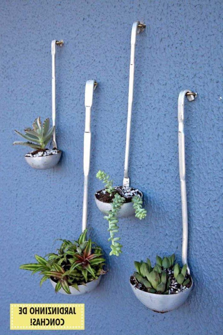 DIY Wall planter decoration
