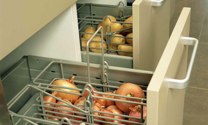 Drawers for vegetables