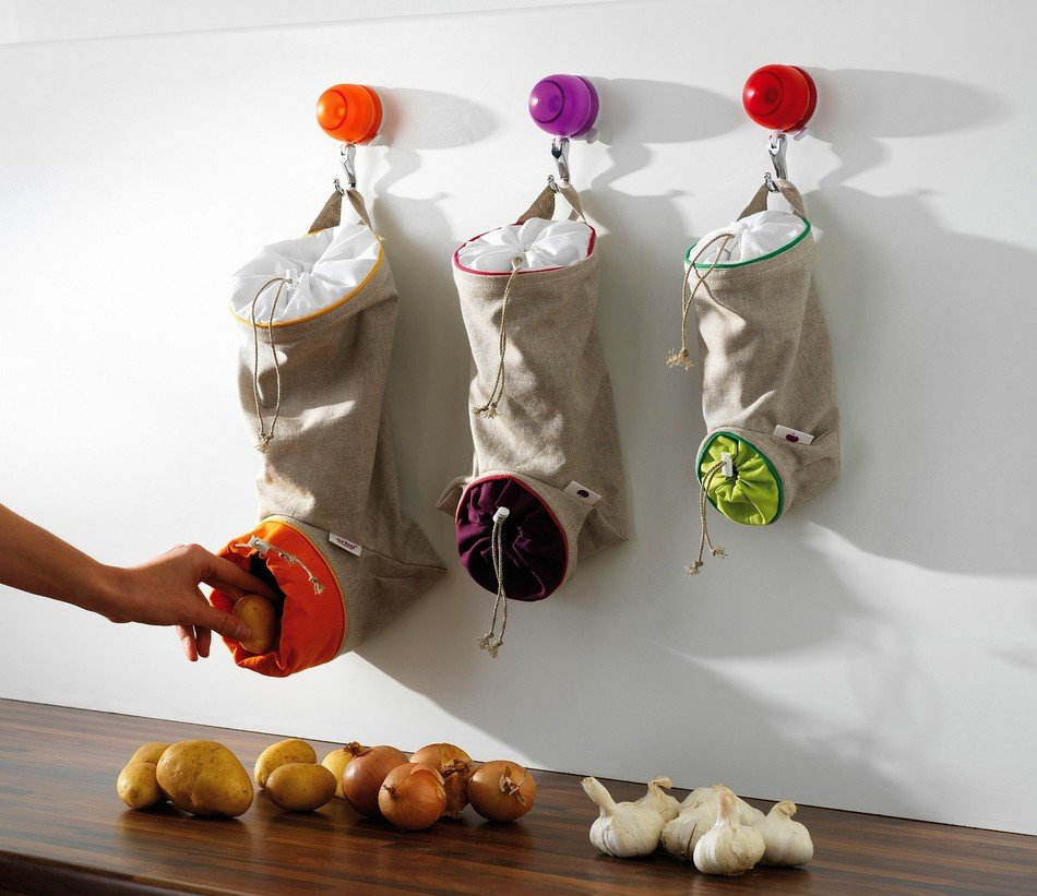 Easy DIY Small Kitchen Storage