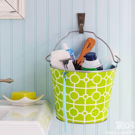 bath bucket storage