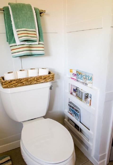 bathroom cabinet storage containers