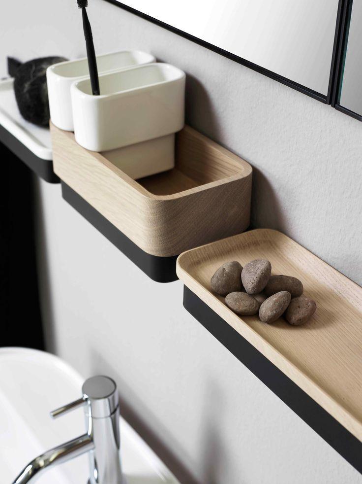bathroom vanity wall shelf