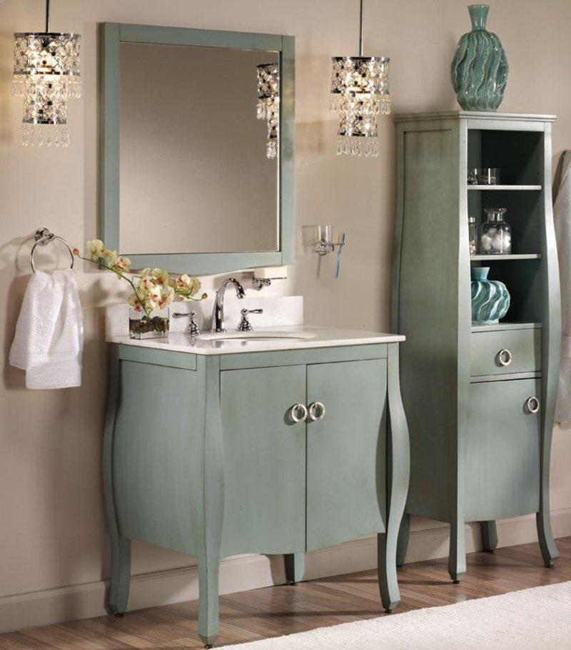 bathroom wall cabinet with open shelf