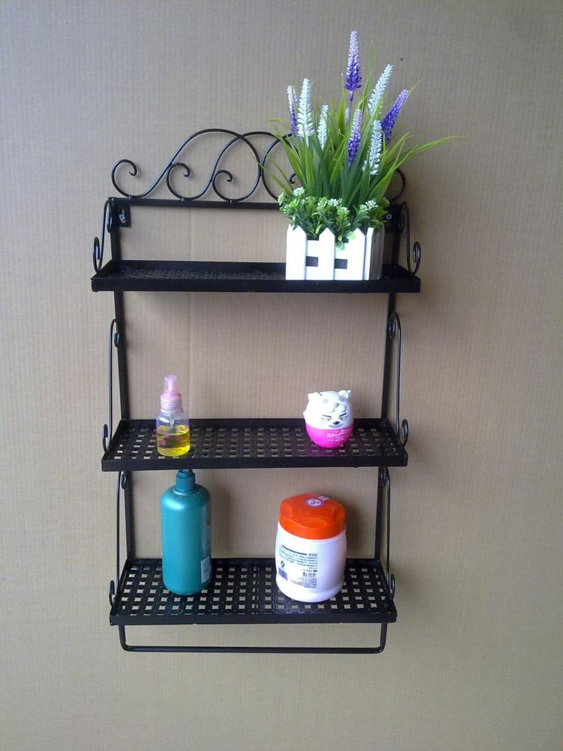 bathroom wall shelves design