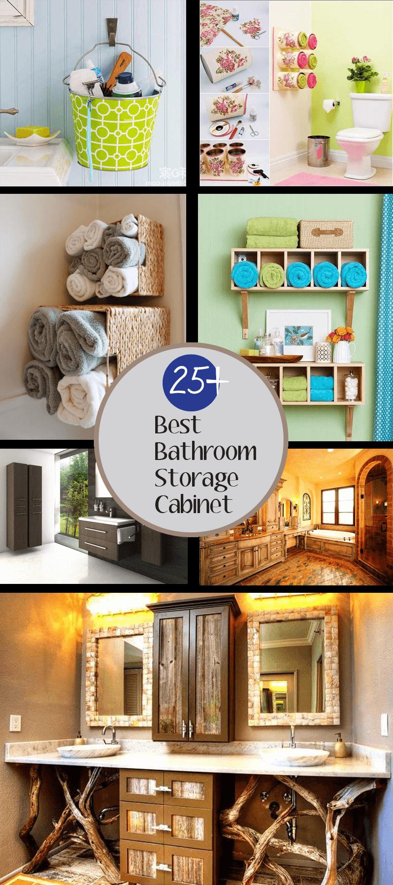 best bathroom storage cabinet