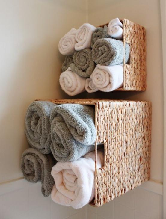 corner bathroom basket storage cabinet