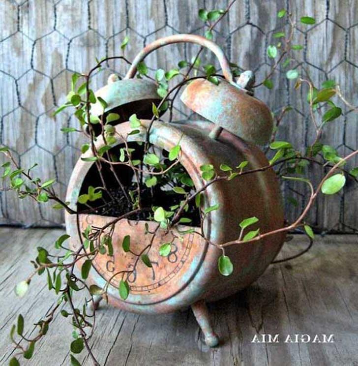 diy rustic planter ideas