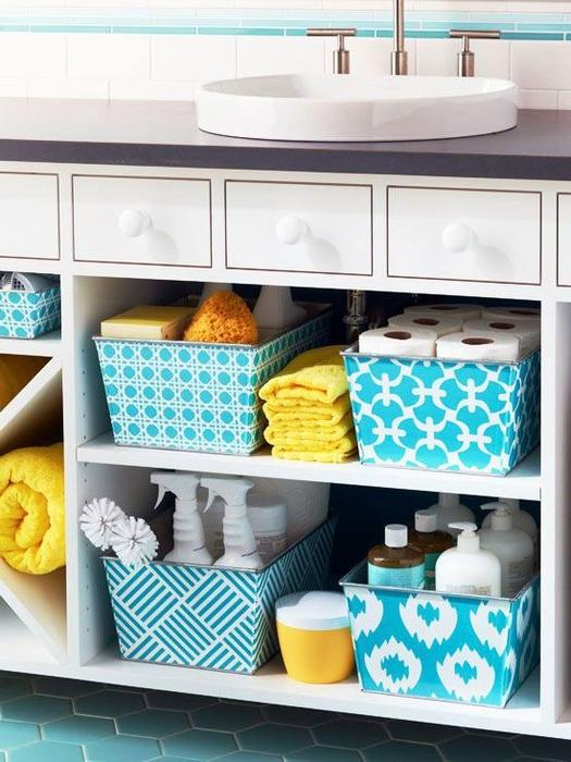 easy bathroom storage cabinet under sinks