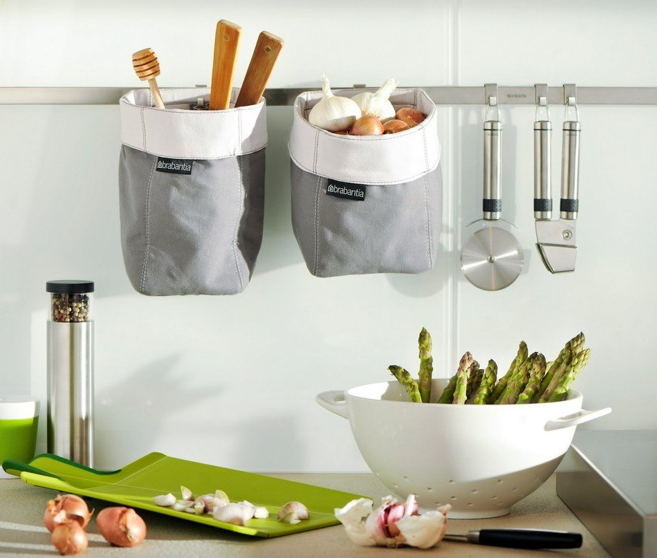 small kitchen wall storage ideas