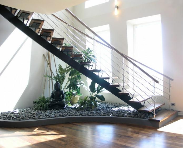 Creative Garden Under Staircase